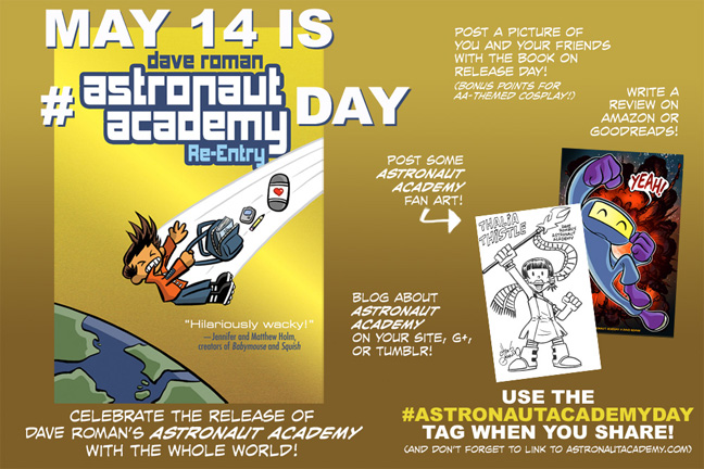 Astronaut Academy Day