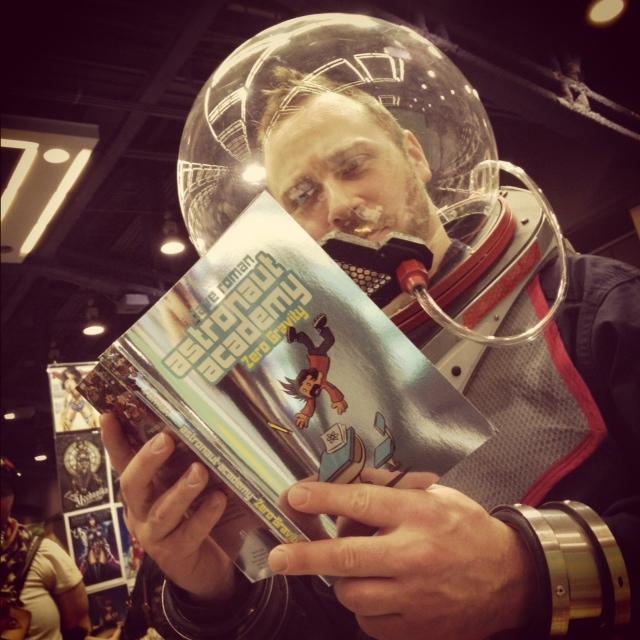 Astronaut Academy cosplay