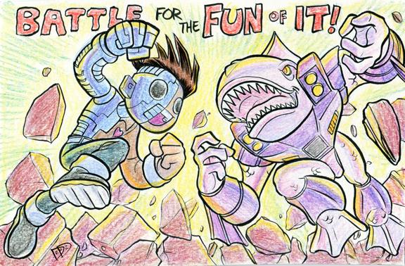 Doug Hiro Battle Beasts