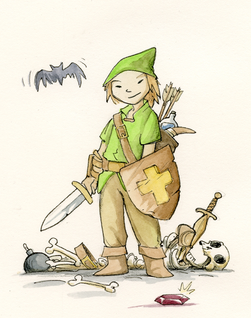 Legend of Zelda by Ben Hatke