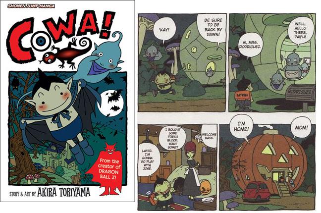 Cowa by Akira Toriyama
