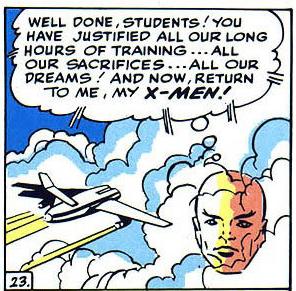 Professor X head