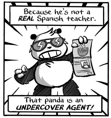 Secret Agent Panda