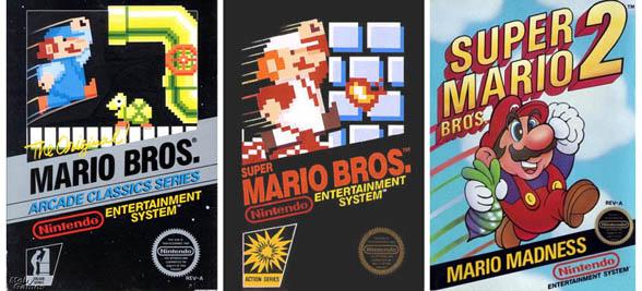 Super Mario boxes