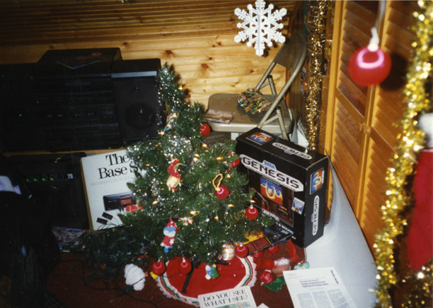 Videogame Christmas Tree