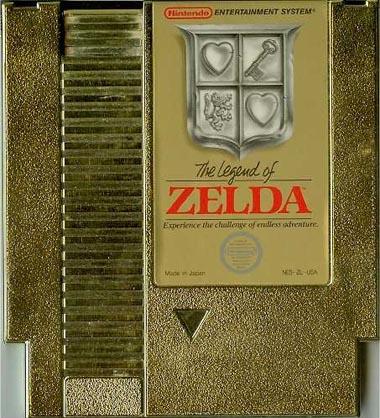 Zelda gold NES
