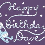 Doug Hiro Birthday Greeting by Raina Telgemeier